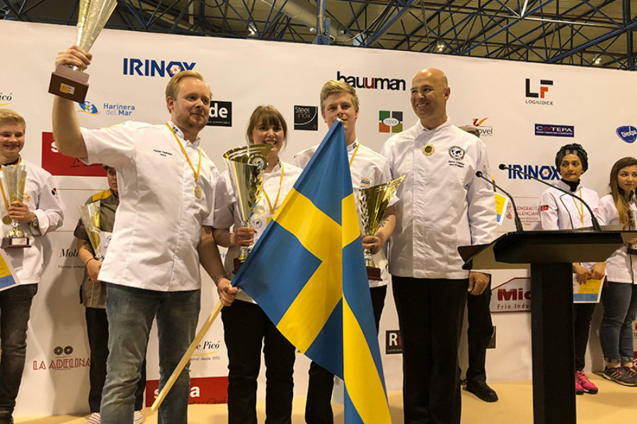 Winners of the 47th UIBC International Competition of Young Bakers 2018