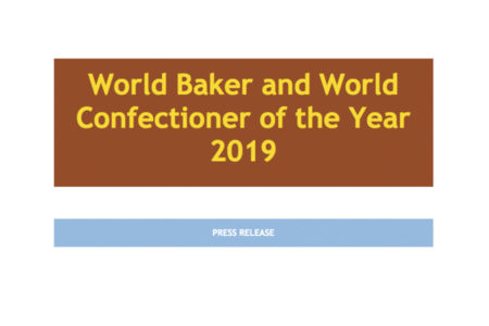 World Baker and World Confectioner of the Year 2019